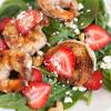 Strawberry Shrimp Salad