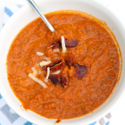 Tomato Soup (sundried tomatoes & turkey bacon)