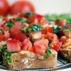 Classic Tomato Bruschetta (#COOKOUTWEEK2017 GIVEAWAY!)