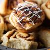 confetti cinnamon roll muffins