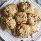 Chocolate Chip Tahini Cookies