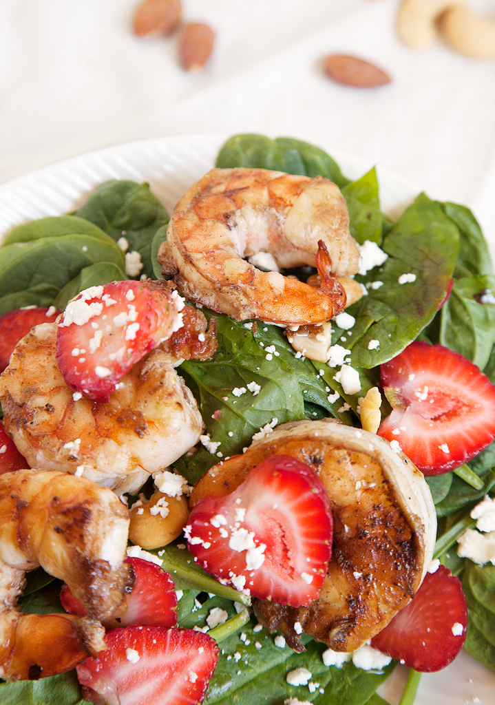 Strawberry Shrimp Salad - My Southern Sweet Tooth