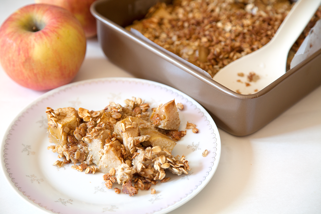 Apple Peanut Butter Baked Oatmeal - My Southern Sweet Tooth