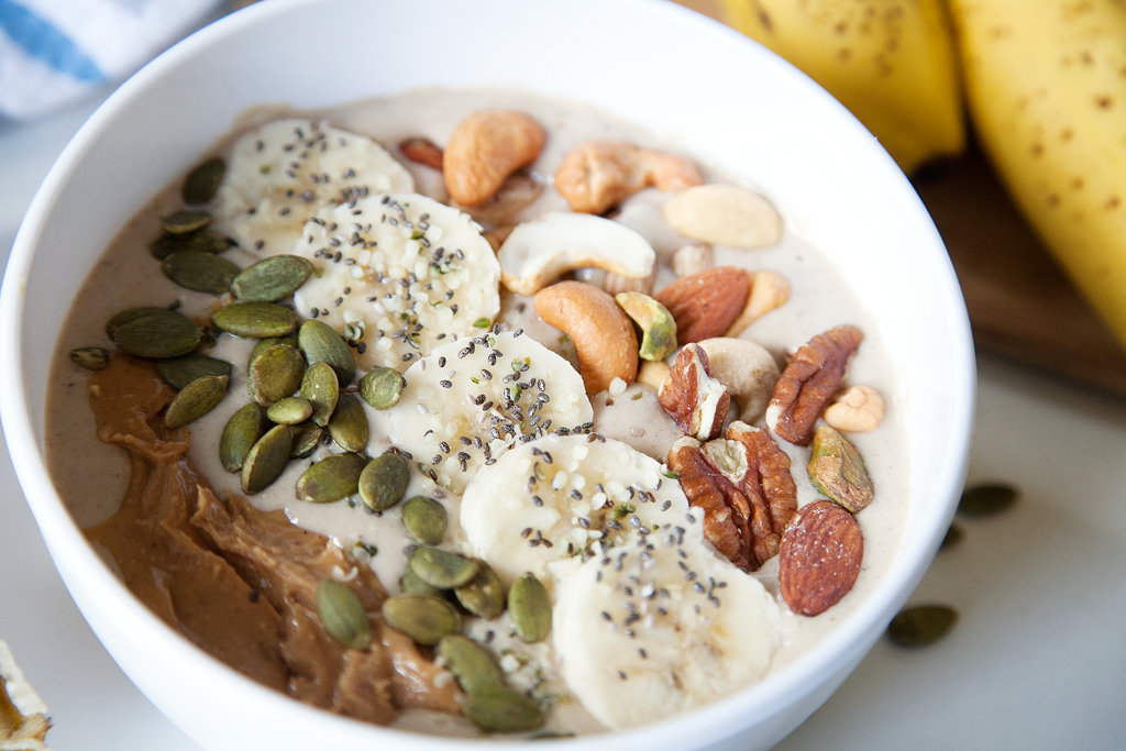 Banana Nut Smoothie Bowl | My Southern Sweet Tooth