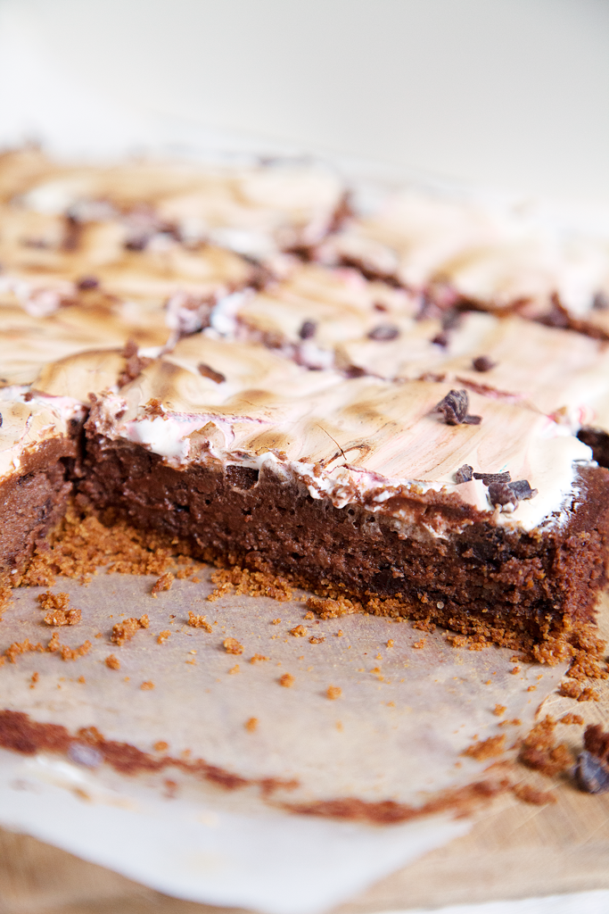 S'mores Brownies - My Southern Sweet Tooth