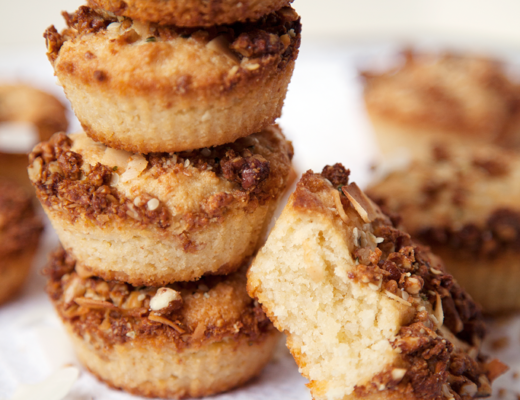 Coconut Lime Granola Muffins - My Southern Sweet Tooth