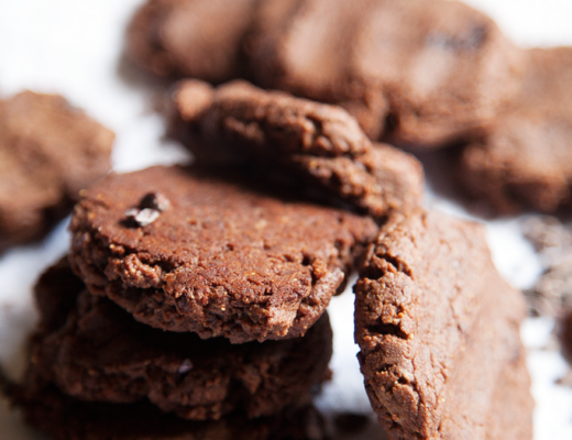 5 ingredient chocolate peanut butter cookies - My Southern Sweet Tooth