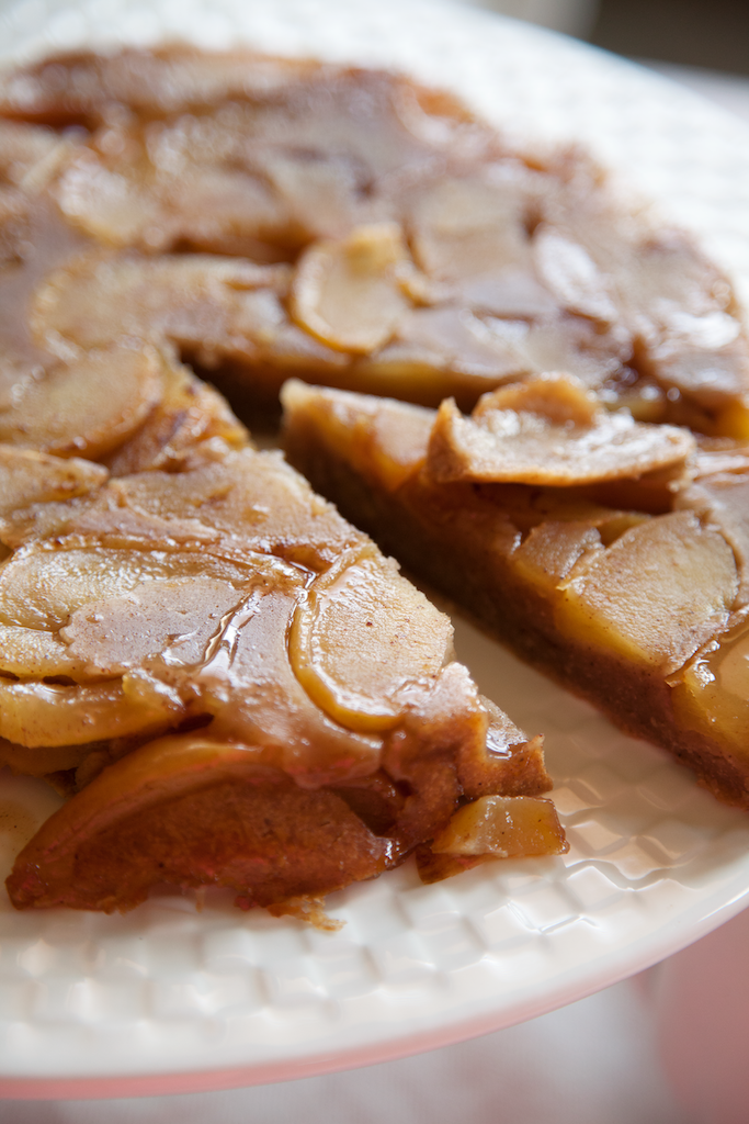 Apple Upside Down Cake - My Southern Sweet Tooth