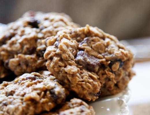 Chocolate Raisin Oatmeal Cookies - My Southern Sweet Tooth