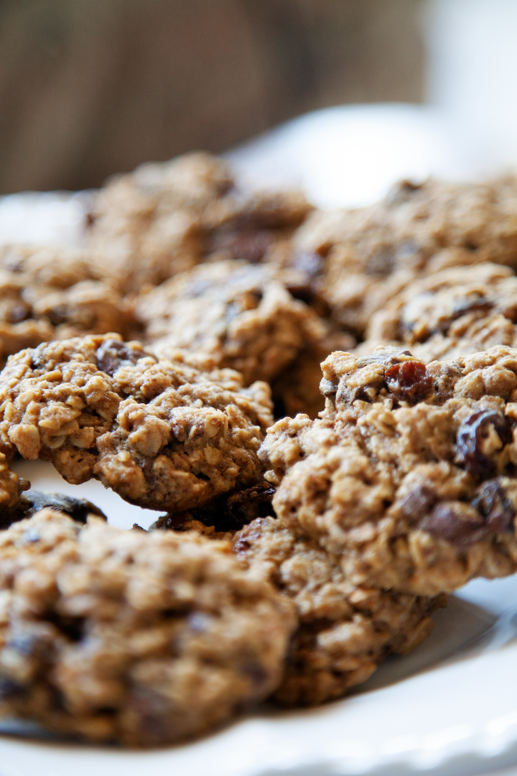 Chocolate Raisin Oatmeal Cookies - My Southern Sweet Tooth