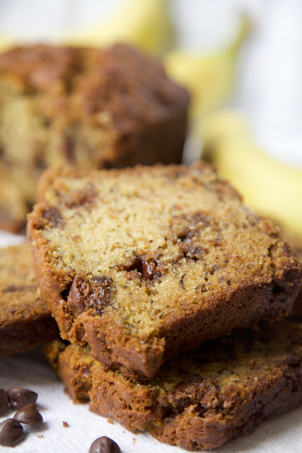 Chocolate Chip Banana Bread - MSST