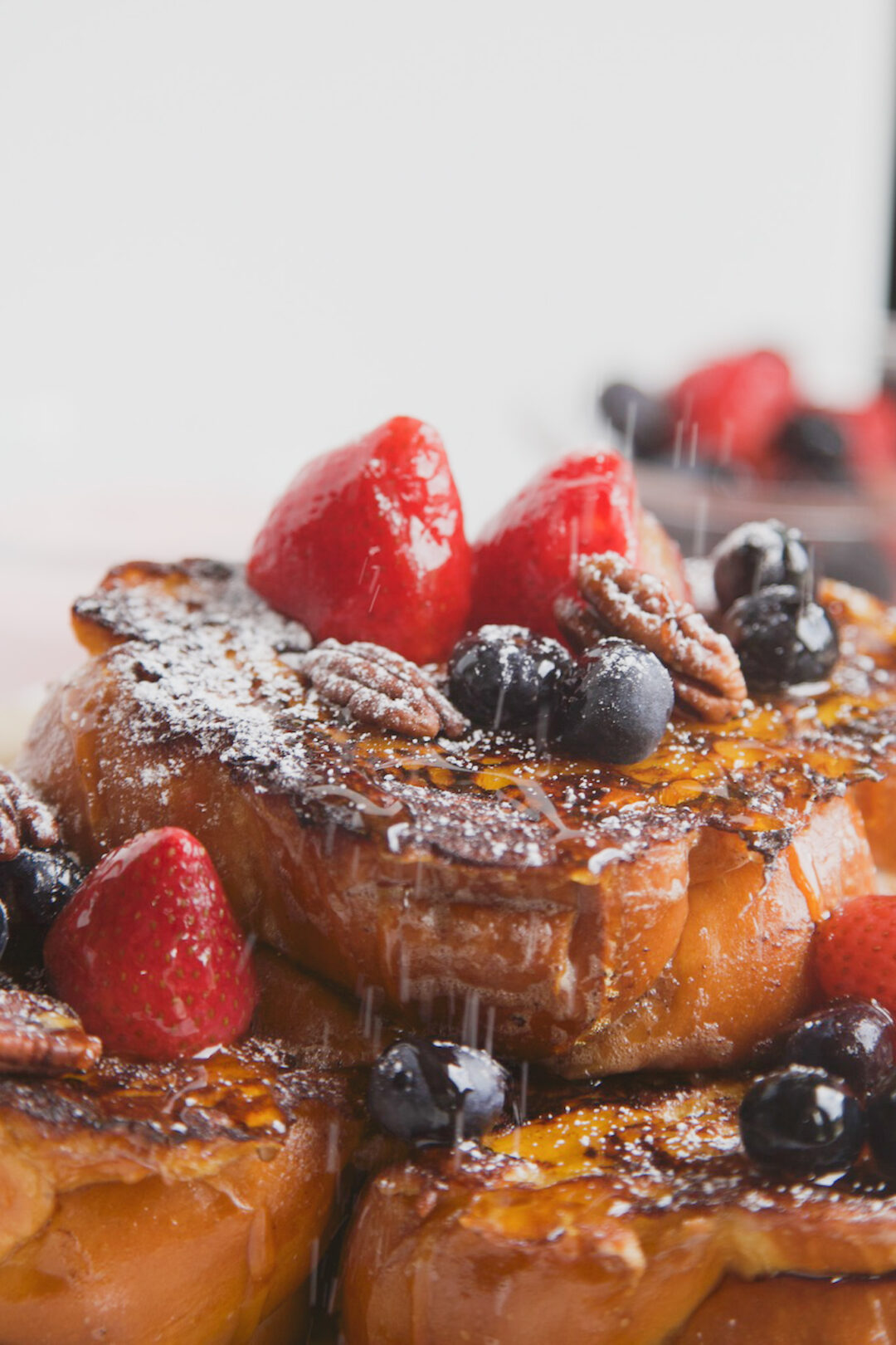 Berries & Cream Stuffed French Toast - MSST