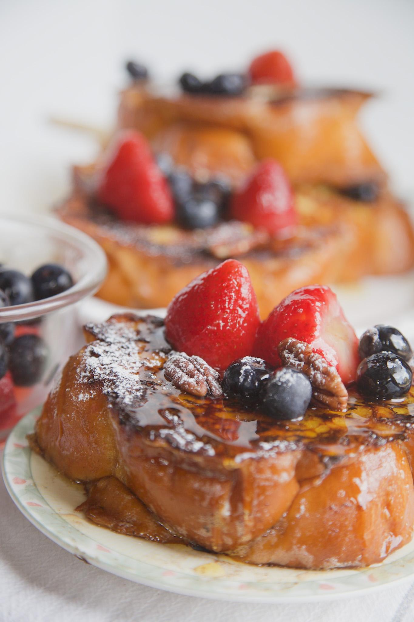 Berries & Cream Stuffed French Toast - MSST