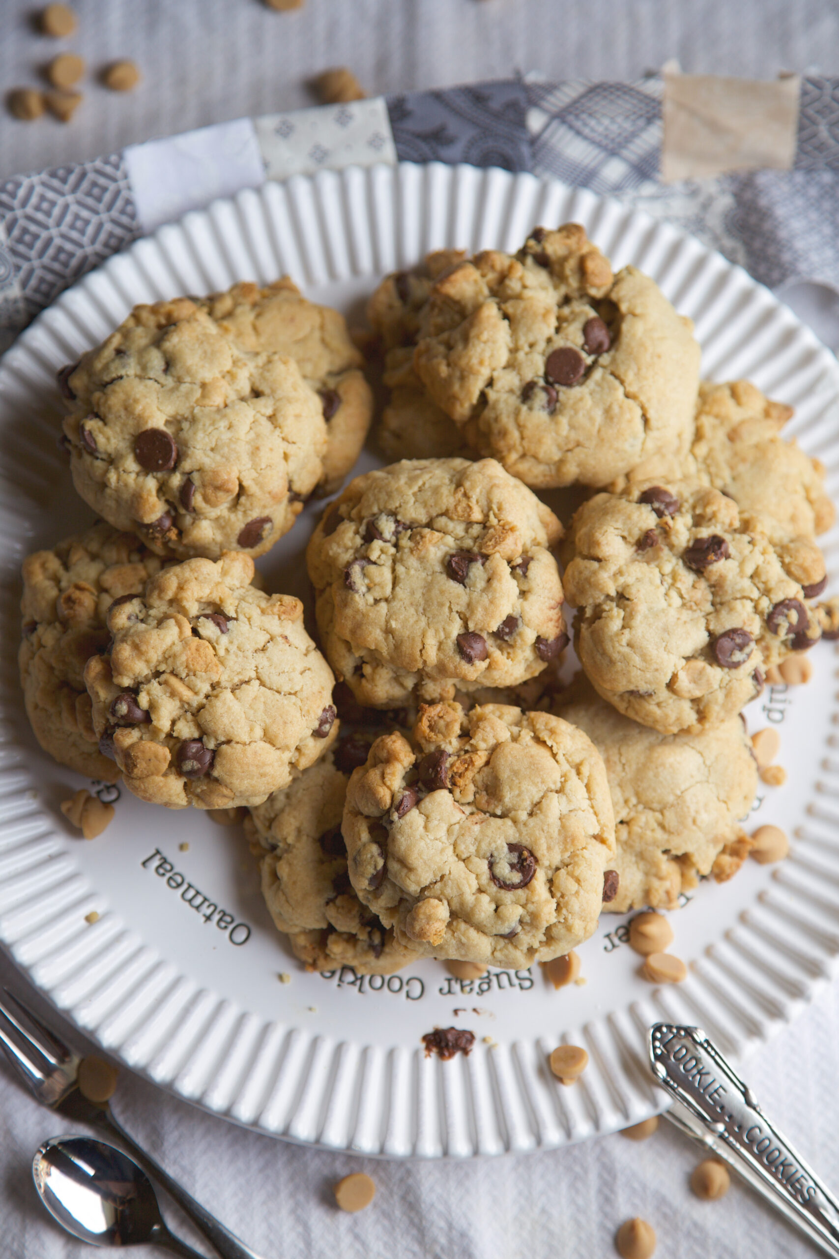 Chocolate chip tahini cookies - MSST